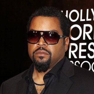 Ice Cube in The Hollywood Foreign Press Association's Grants Banquet