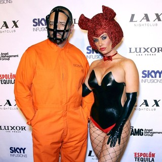 LAX Nightclub Presents Halloween Player's Ball Hosted by Ice-T and Coco