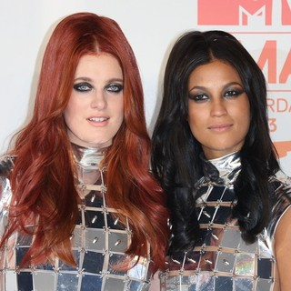 Icona Pop in 20th MTV Europe Music Awards - Press Room