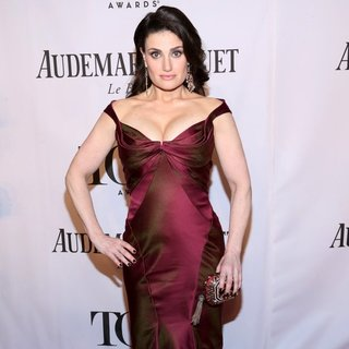 Idina Menzel in The 68th Annual Tony Awards - Arrivals