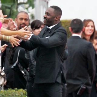 Idris Elba in The 69th Annual Golden Globe Awards - Arrivals