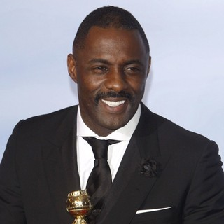 Idris Elba in The 69th Annual Golden Globe Awards - Press Room