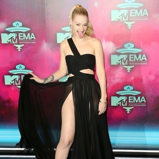 Iggy Azalea in 20th MTV Europe Music Awards - Arrivals