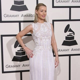 Iggy Azalea in The 56th Annual GRAMMY Awards - Arrivals