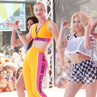 Iggy Azalea - Iggy Azalea Performs Live on NBC's The Today Show for The Toyota Summer Concert Series