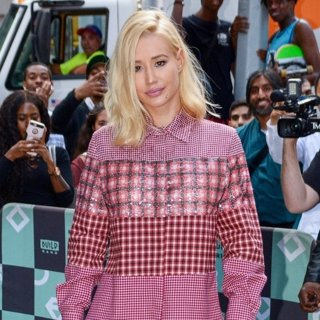 Iggy Azalea in Iggy Azalea Visits AOL Build
