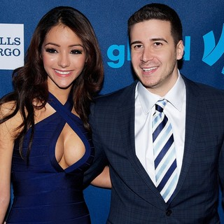 Melanie Iglesias, Vinny Guadagnino in 24th Annual GLAAD Media Awards - Arrivals