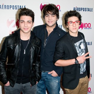 Il Volo in Z100's 2011 Jingle Ball Presented by Aeropostale - Arrivals - il-volo-z100-s-2011-jingle-ball-01