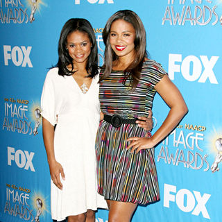 Kimberly Elise, Sanaa Lathan in 42nd Annual Image Awards Nomination Announcements and Press Conference