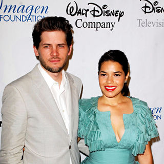 Ryan Piers Williams, America Ferrera in The 25th Annual Imagen Awards