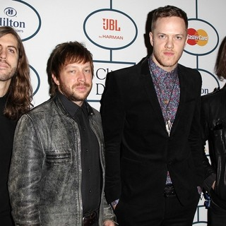 Imagine Dragons in 2014 Pre-Grammy Gala and Grammy Salute to Industry Icons - Clive Davis