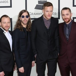 Imagine Dragons in The 56th Annual GRAMMY Awards - Arrivals