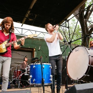 Imagine Dragons in Rachel Ray Feedback Party at SXSW 2012