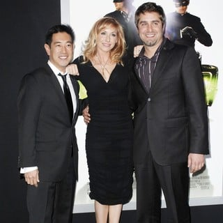 Grant Imahara, Kari Byron, Tory Belleci in Premiere of Columbia Pictures The Green Hornet - Arrivals
