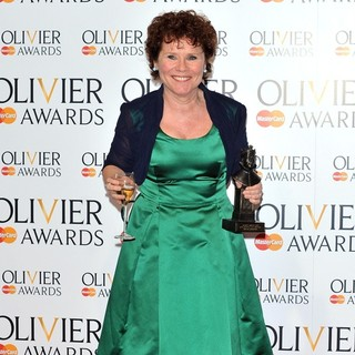 Imelda Staunton in The Olivier Awards 2013 - Press Room