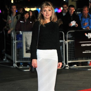 Imogen Poots in 57th BFI London Film Festival - Inside Llewyn Davis Premiere - Arrivals