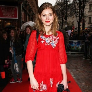 Imogen Poots in UK Charity Premiere of The Secret of Moonacre - Arrivals