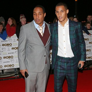 Paul Ince, Thomas Ince in The MOBO Awards 2012 - Arrivals