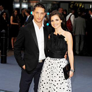 Tom Hardy, Charlotte Riley in The UK Premiere of Inception - Arrivals