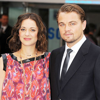 Marion Cotillard, Leonardo DiCaprio in The UK Premiere of Inception - Arrivals