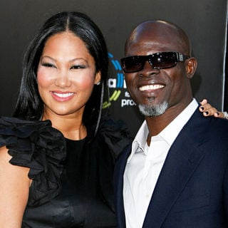 "Kimora Lee Simmons, Djimon Honsou in Warner Bros. Pictures' Los Angeles Premiere of ""Inception"""