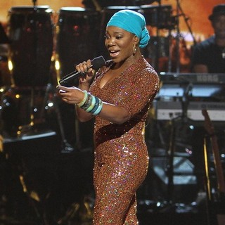India.Arie in The 2013 BET Awards - Inside