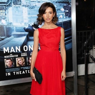 India de Beaufort in Premiere of Man on a Ledge