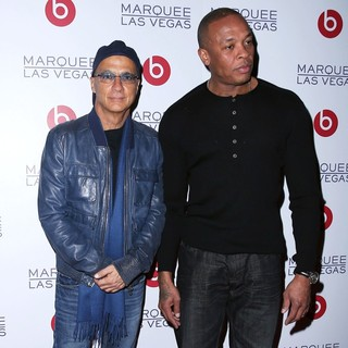 Jimmy Iovine, Dr. Dre in Beats by Dr. Dre Celebrate CES with An After-Party