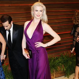Ireland Baldwin in 2014 Vanity Fair Oscar Party