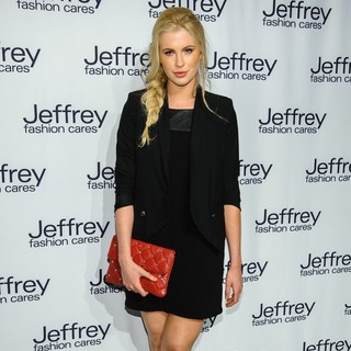 Ireland Baldwin in Jeffrey Fashion Cares 10th Anniversary Celebration