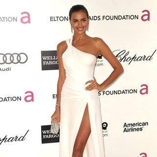 Irina Shayk in The 20th Annual Elton John AIDS Foundation's Oscar Viewing Party - Arrivals