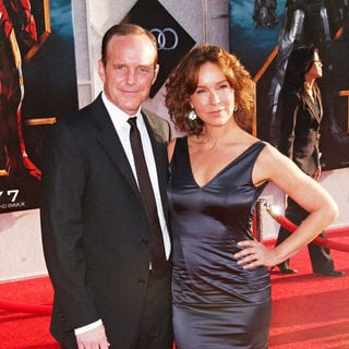 Clark Gregg, Jennifer Grey in The 'Iron Man 2' World Premiere