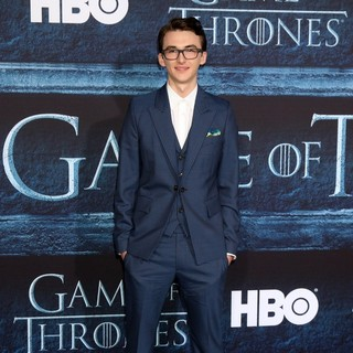 Isaac Hempstead-Wright in Los Angeles Premiere for Season 6 of HBO's Game of Thrones