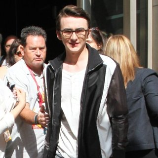 Isaac Hempstead-Wright in San Diego Comic-Con International - Day 3 - Celebrity Sightings - isaac-hempstead-wright-san-diego-comic-con-international-2014-02