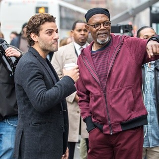Oscar Isaac, Samuel L. Jackson-On The Film Set of 'Life, Itself'
