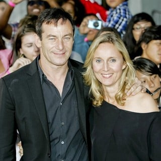 Jason Isaacs, Emma Hewitt in The Premiere of Abduction - Arrivals