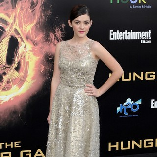 Isabelle Fuhrman in Los Angeles Premiere of The Hunger Games - Arrivals