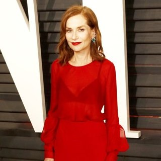 Isabelle Huppert in 2017 Vanity Fair Oscar Party - Arrivals