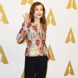 Isabelle Huppert in 89th Annual Academy Awards Nominees Luncheon - Arrivals