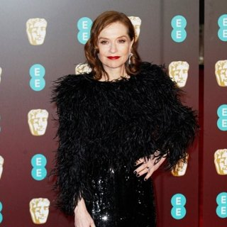 Isabelle Huppert in EE British Academy Film Awards 2018 - Arrivals