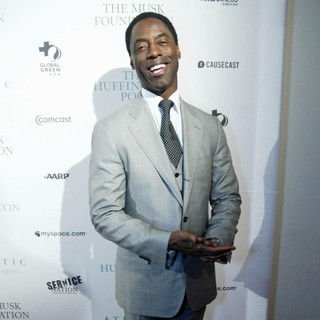 Isaiah Washington in The Huffington Post First-Ever Interactive Pre-Inaugural Ball - Arrivals