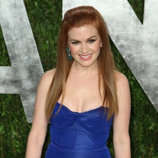 Isla Fisher in 2013 Vanity Fair Oscar Party - Arrivals
