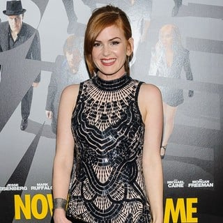Isla Fisher in New York Premiere of Now You See Me