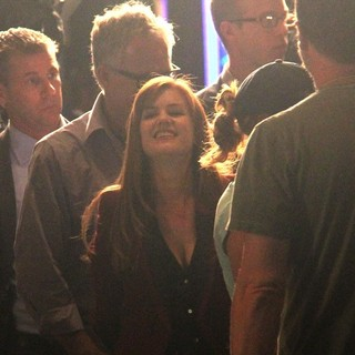 Isla Fisher in On Set for The Film Now You See Me