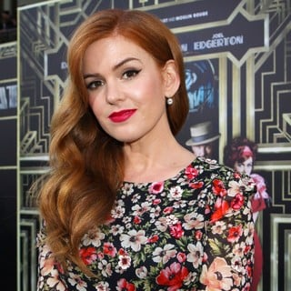 Isla Fisher in Premiere of The Great Gatsby
