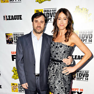Jeff Schaffer, Jackie Marcus Schaffer in LA Premiere of 'It's Always Sunny in Philadelphia' and 'The League'