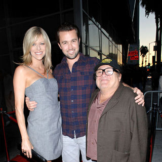 Kaitlin Olson, Rob McElhenney, Danny DeVito in LA Premiere of 'It's Always Sunny in Philadelphia' and 'The League'
