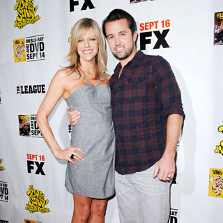 Kaitlin Olson, Rob McElhenney in LA Premiere of 'It's Always Sunny in Philadelphia' and 'The League'