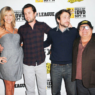 Kaitlin Olson, Rob McElhenney, Charlie Day, Danny DeVito in LA Premiere of 'It's Always Sunny in Philadelphia' and 'The League'