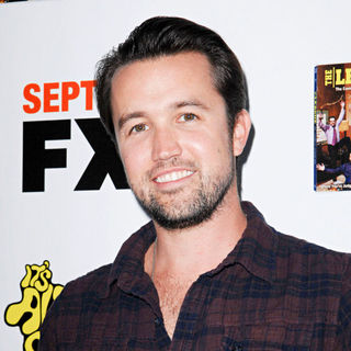 Rob McElhenney in LA Premiere of 'It's Always Sunny in Philadelphia' and 'The League'